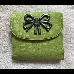 {EUC} From Rome - DIOR Wallet 💚 (Gorgeous!)
